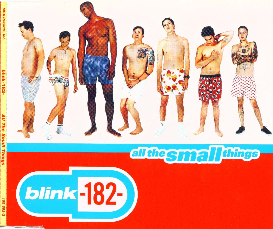 Blink 182 - All The Small Things - Front
